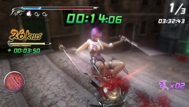 Ninja Gaiden Sigma 2 Plus Review Playstation Vita Game Chronicles
