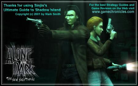 Alone In The Dark The New Nightmare Sinjin S Guide To Shadow Island Version 1 0