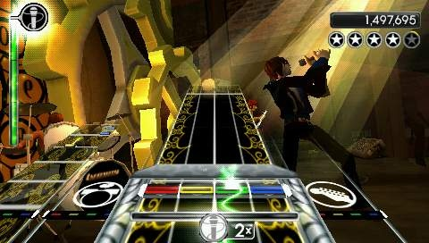 Rock band Unplugged [Español][PSP]